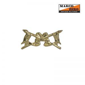 Distintivo Dourado Cavalaria